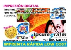 Servicios de Diseño de Imagen y Marketing, Impresión digital y Rotulacion